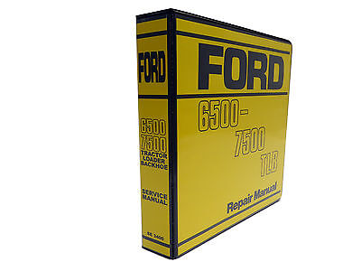 ford 550 backhoe service manual