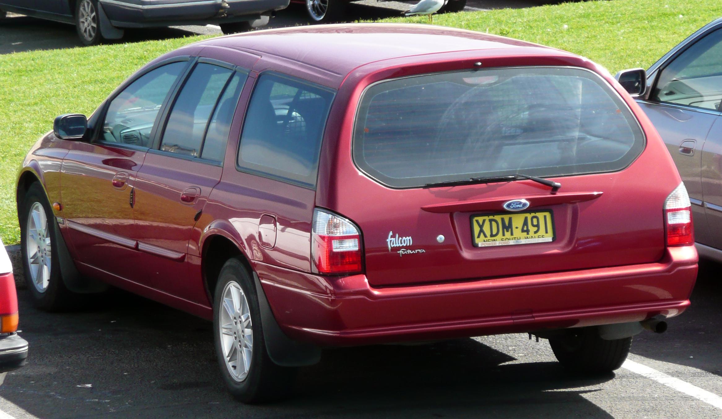 ford falcon au 2001 manual