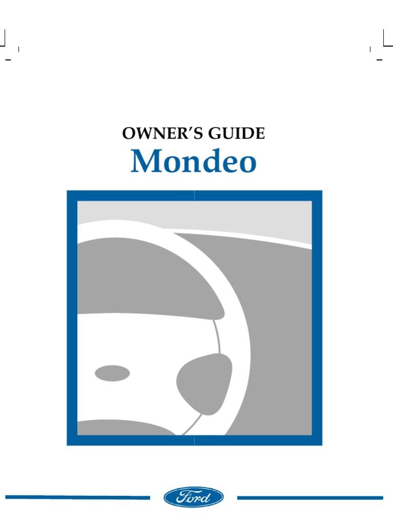 ford mondeo mk4 workshop manual pdf