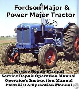 fordson super major manual pdf