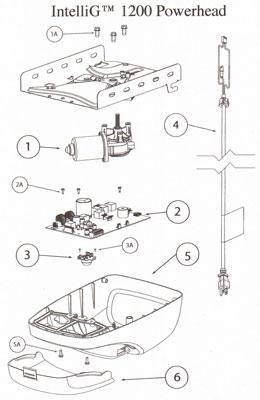 forza 1200 garage door opener manual