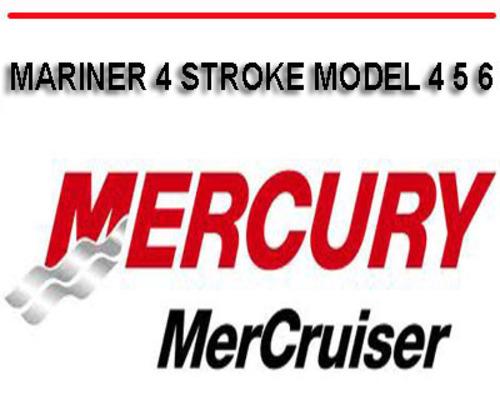 free mercury outboard service manual pdf