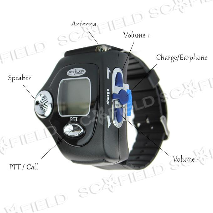 freetalker walkie talkie watch manual
