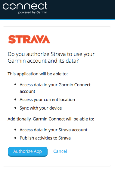 garmin connect strava manual sync