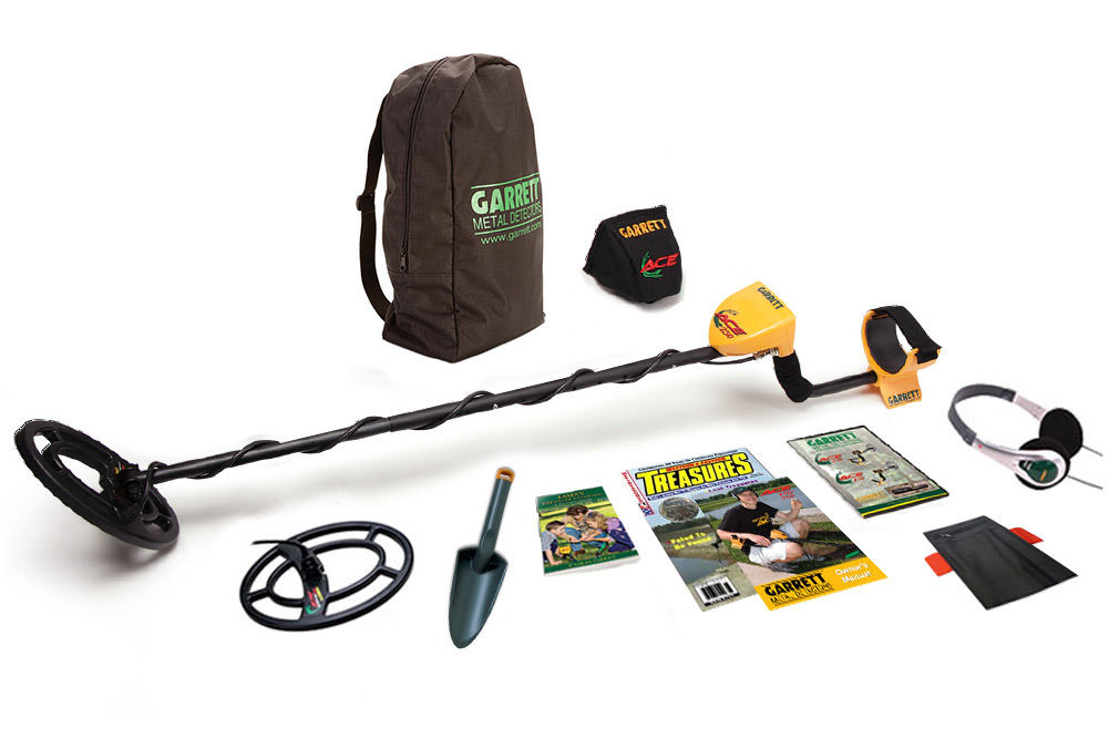 garrett ace 250 metal detector manual