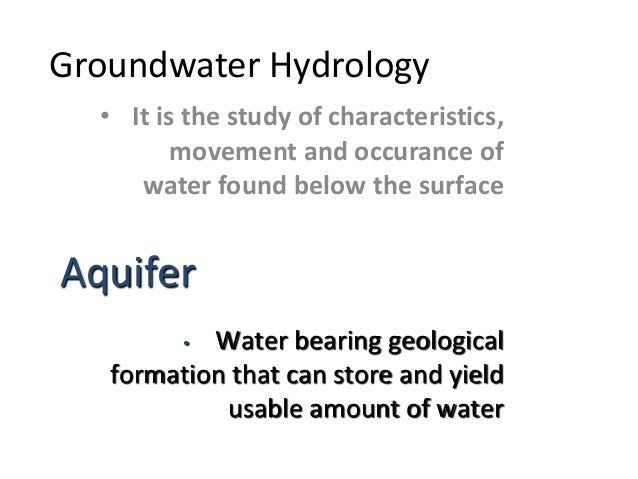 groundwater hydrology third edition solution manual