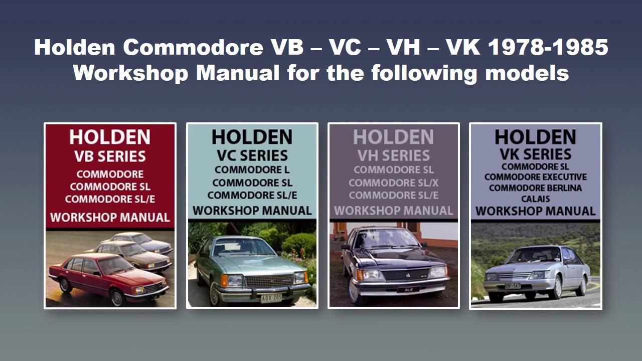 holden ve commodore workshop manual download