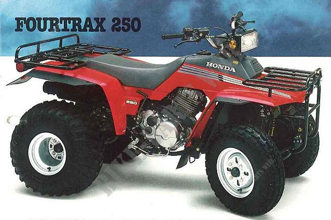 honda trx 500 service manual