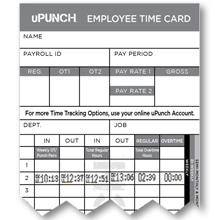how to calculate time cards manually