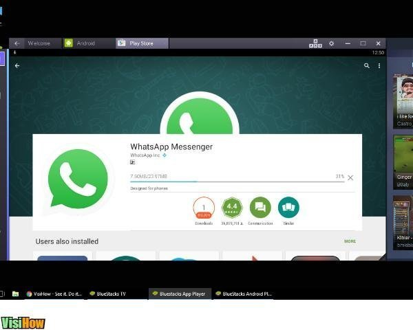 how to install whatsapp on windows phone manually