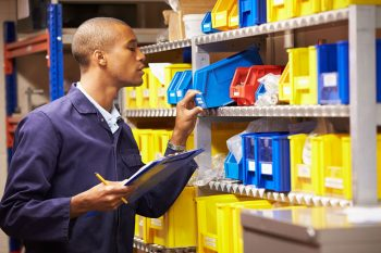how to track inventory manually