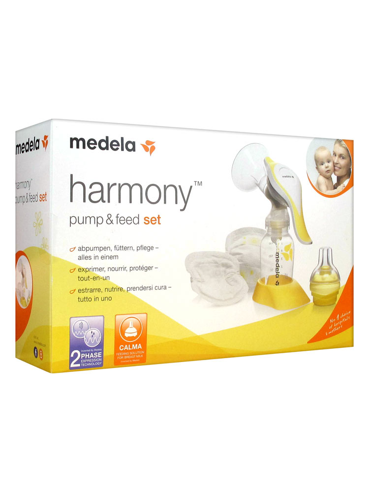 how to use medela manual breast pump