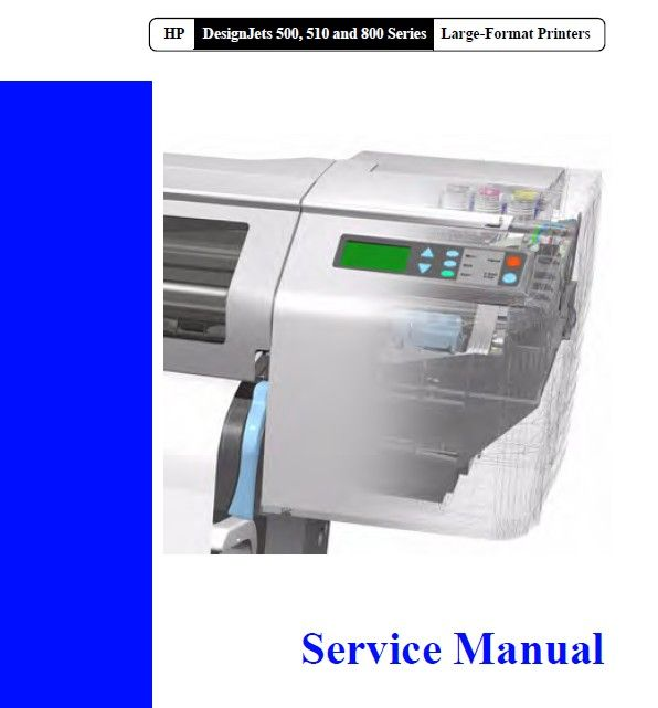 hp designjet 500 parts manual