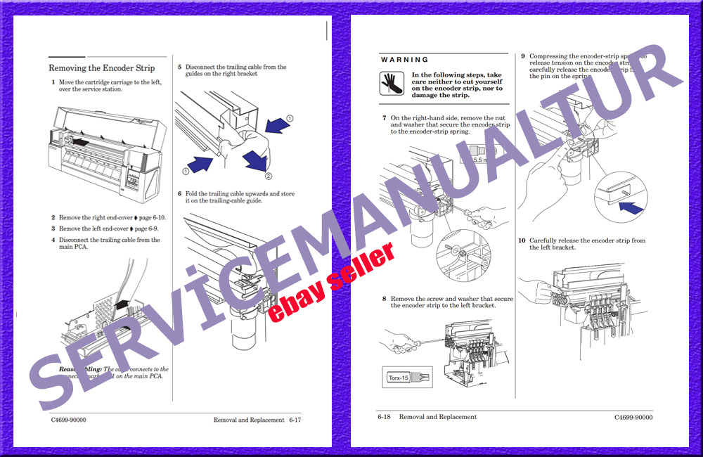 hp designjet 500 repair manual