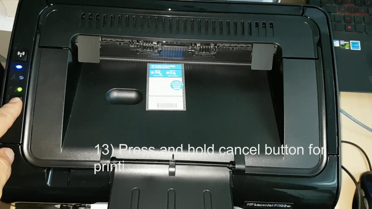 hp laserjet pro p1102w printer manual