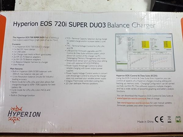 hyperion eos 720i super duo3 manual