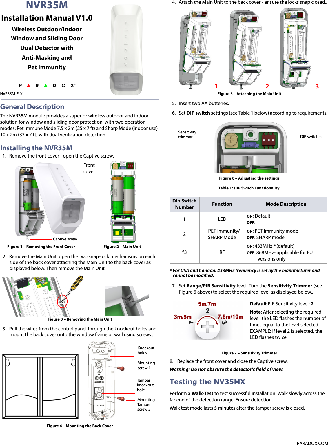 ids alarm system installation manual