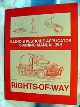 illinois pesticide applicator training manual