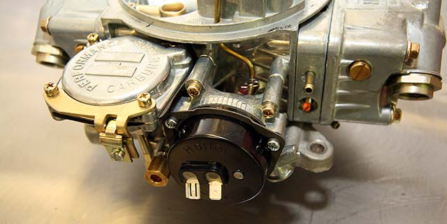 installing manual choke on holley carb