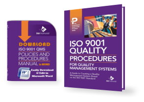 iso 9001 quality manual template download