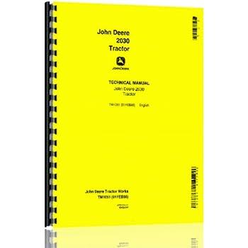 john deere 2030 parts manual