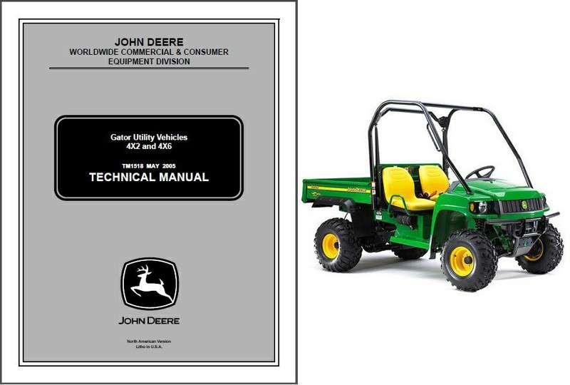 john deere gator owners manual