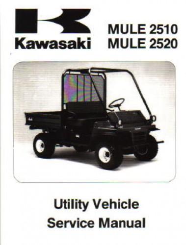 kawasaki mule 2510 service manual free
