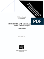 kinematics dynamics and design of machinery solutions manual pdf