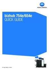 konica minolta bizhub 654e manual