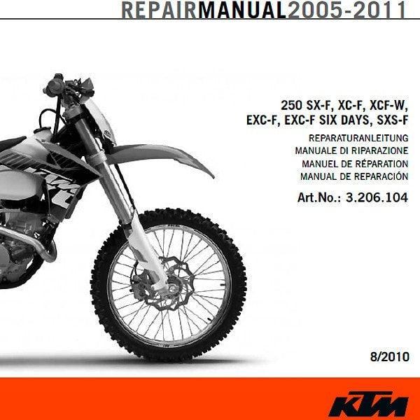 ktm 500 exc service manual