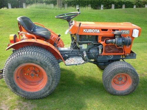 kubota b7100 hst parts manual