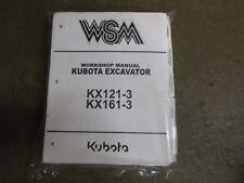 kubota kx161 3 operator manual