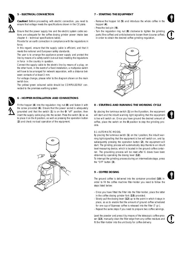 la pavoni zip grinder manual