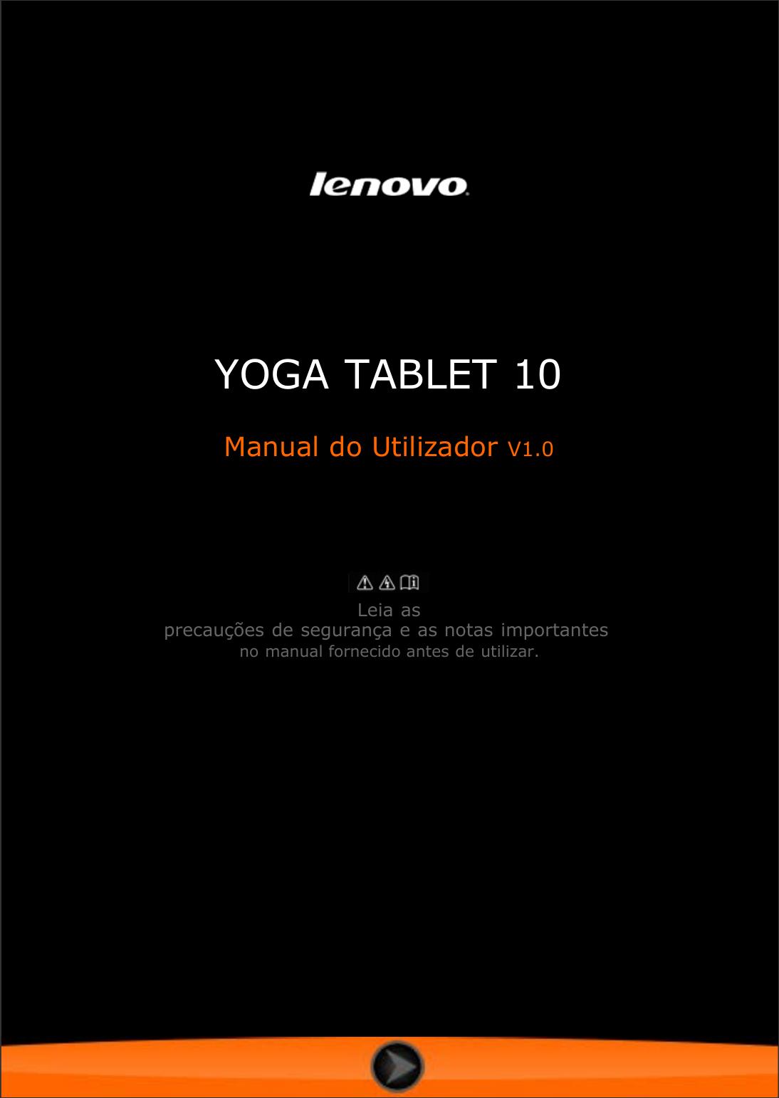 lenovo yoga 3 tablet user manual