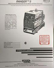 lincoln ranger 305d parts manual