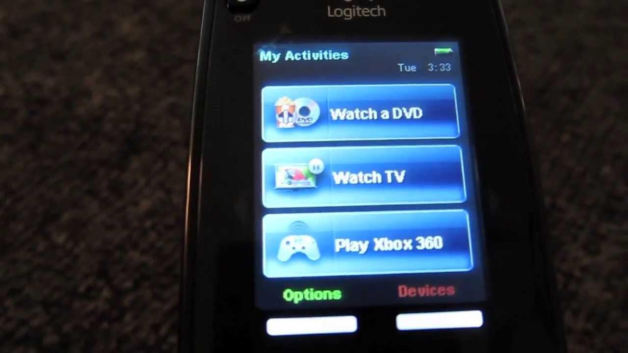 logitech harmony one universal remote manual
