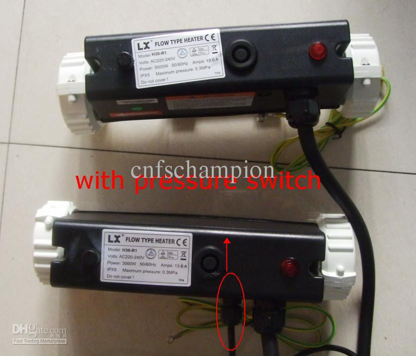 lx flow type heater h30 r1 manual