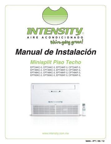 manual control remoto aire acondicionado