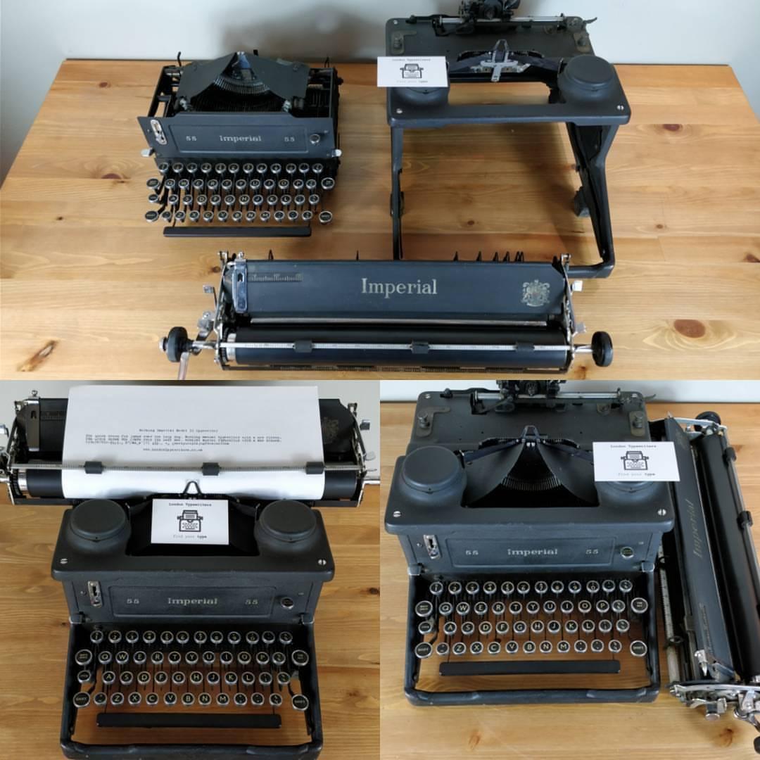 manual typewriters for sale uk
