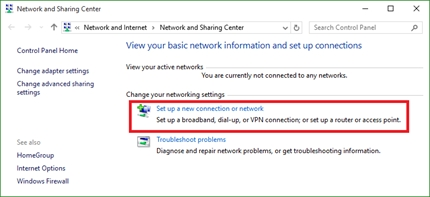 manually connect to a wireless network windows 10
