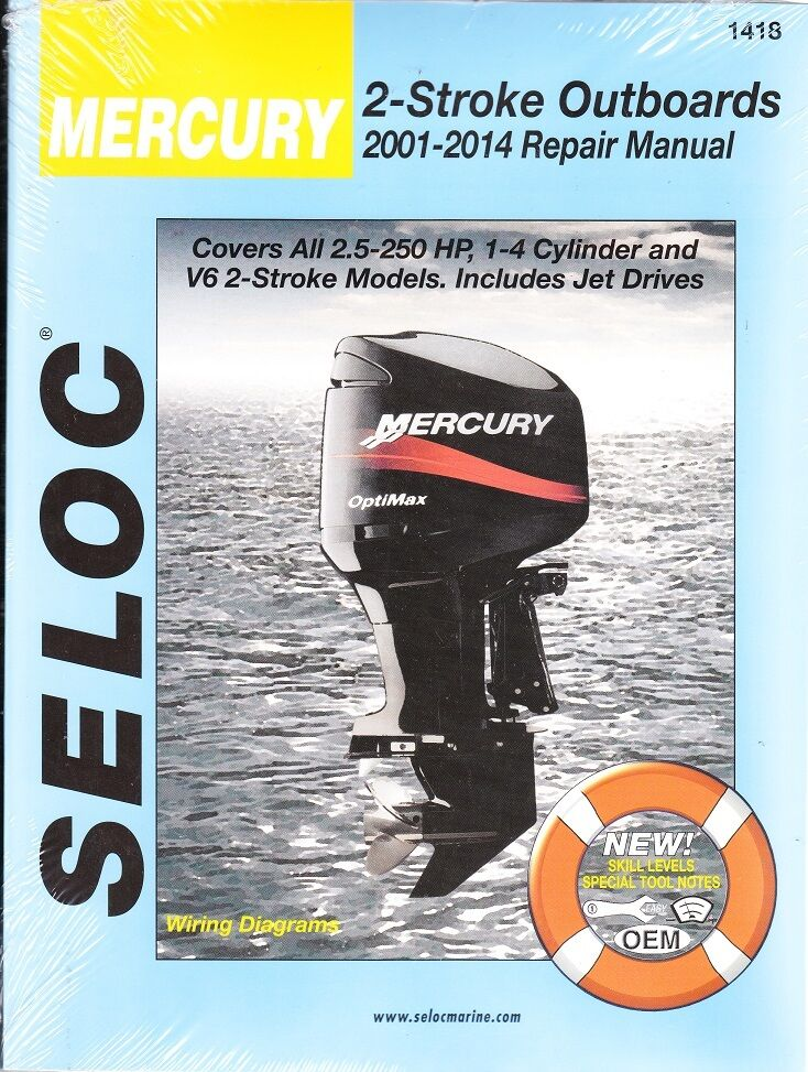 mercury 2 stroke outboard manual