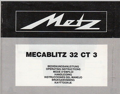 metz 45 ct 1 manual