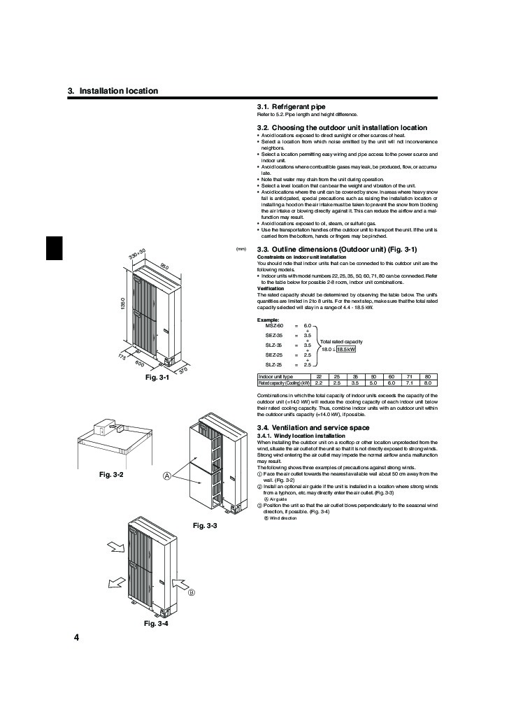 mitsubishi electric air conditioners mr slim manual