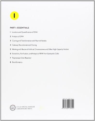 molecular cloning a laboratory manual fourth edition