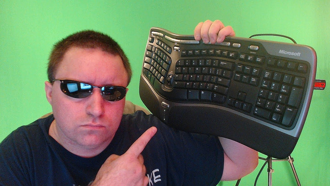 natural ergonomic keyboard 4000 manual