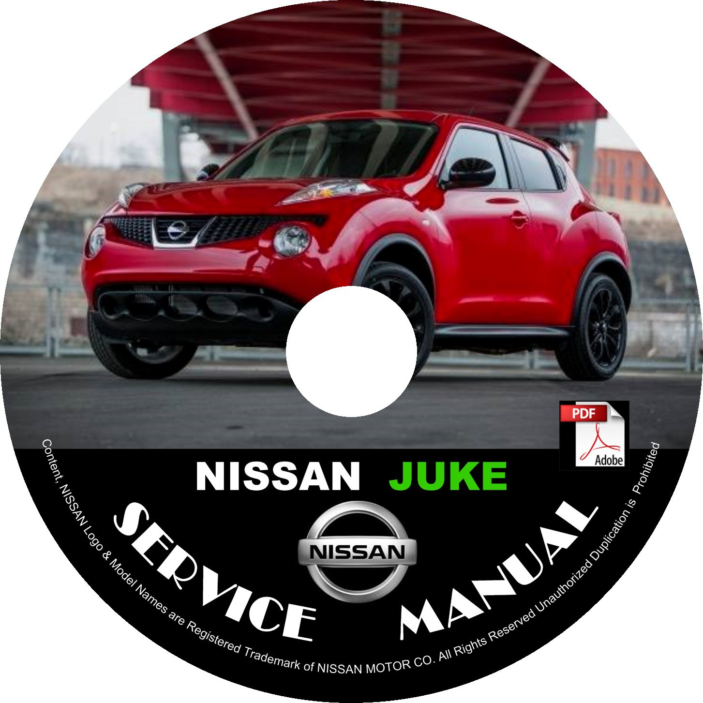 nissan juke service manual pdf