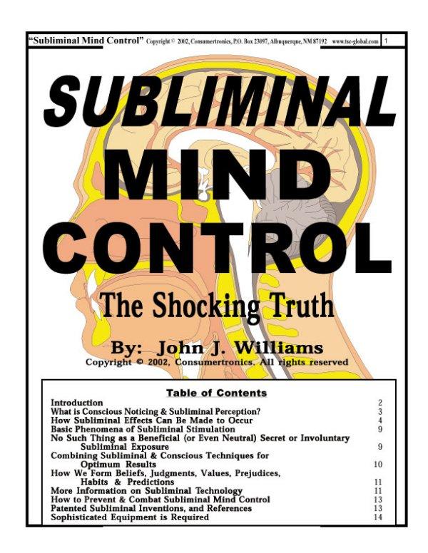 nlp mind control brainwashing manual