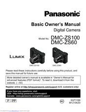 panasonic lumix dmc zs60 user manual
