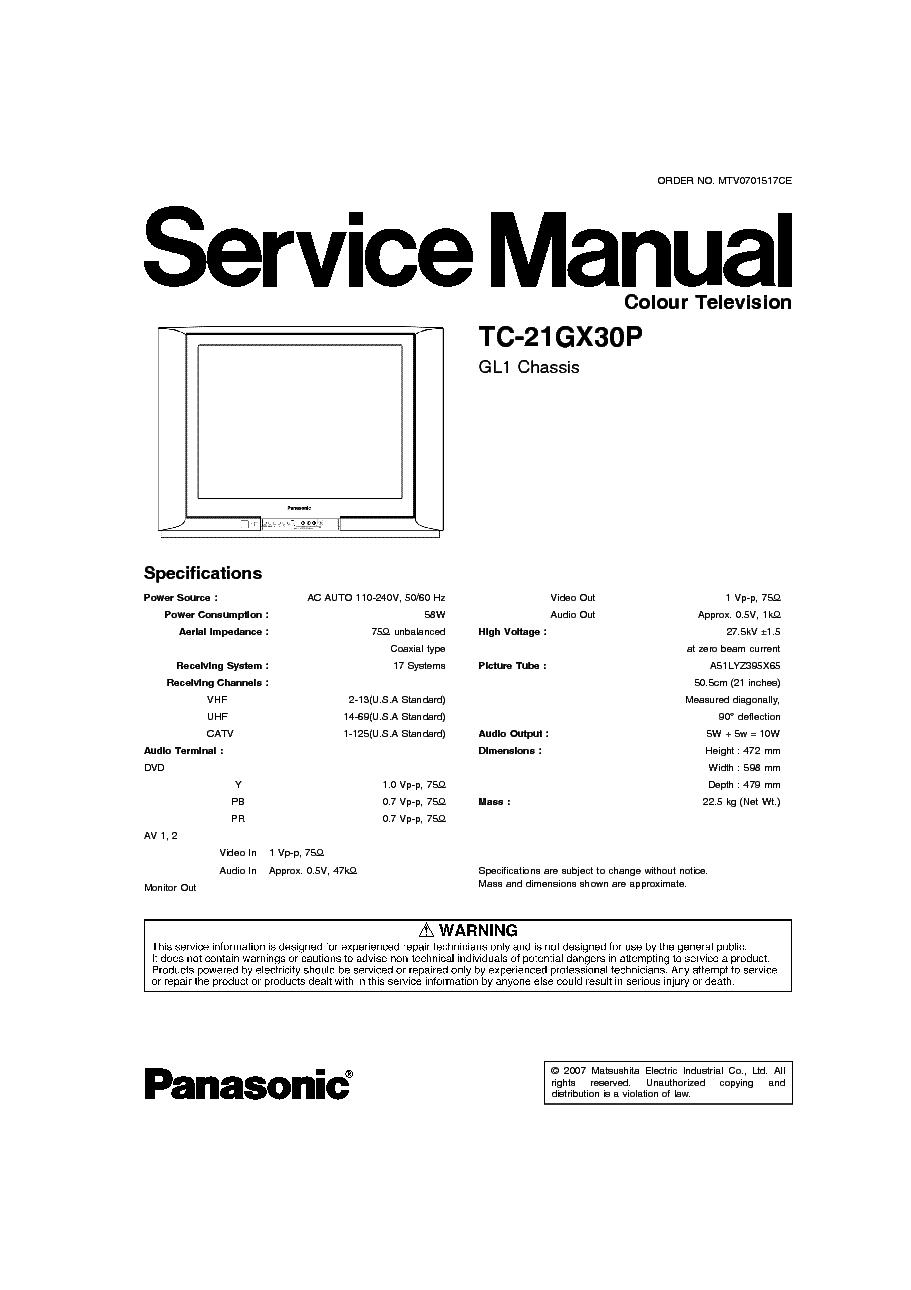 panasonic viera tv manual pdf
