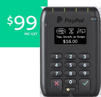 paypal card reader manual entry